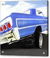 64 Impala Lowrider Acrylic Print