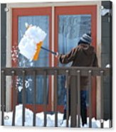 Winter Snow. Acrylic Print
