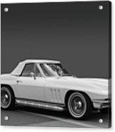65 Corvette Roadster Acrylic Print by Bill Dutting