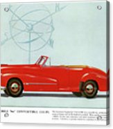 66 Oldsmobile Acrylic Print