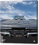 66 Vette Stingray Acrylic Print