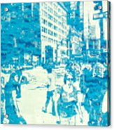 665 Fifth Avenue New York City Acrylic Print