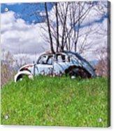 67 Volkswagen Beetle Acrylic Print