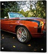 '69 Camaro Acrylic Print