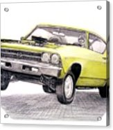 69 Chevelle Ss Acrylic Print