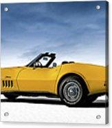 '69 Corvette Sting Ray Acrylic Print