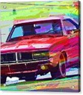69 Dodge Charger  Acrylic Print