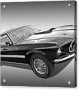 69 Mach1 In Black And White Acrylic Print