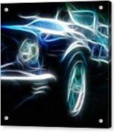 69 Mustang Mach 1 Fantasy Car Acrylic Print