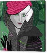 692  Decembers Lady A Acrylic Print