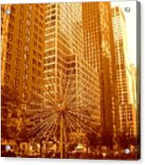 6th Avenue In Mahattan Acrylic Print