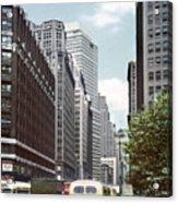 6th Avenue New York 1950 Acrylic Print