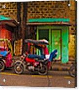 6x1 Philippines Number 48 Panorama Acrylic Print