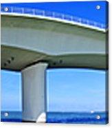 6x1 Sarasota Skyline With Ringling Causeway Bridge Acrylic Print