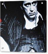 - Scarface - Acrylic Print by Luis Ludzska