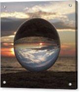 7-24-16--4250 Don't Drop The Crystal Ball, Crystal Ball Photography Acrylic Print