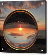 7-26-16--4577 Don't Drop The Crystal Ball, Crystal Ball Photography Acrylic Print