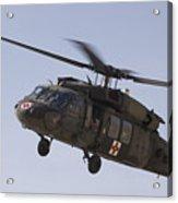 A Uh-60 Blackhawk Medivac Helicopter Acrylic Print