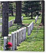 Arlington Cemetery Washington Dc Usa Acrylic Print
