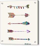 7 Arrows Acrylic Print