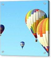 7 Balloons Acrylic Print
