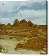 Chaco Canyon Ruins 7 Acrylic Print
