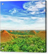 Chocolate Hills Acrylic Print
