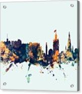 Edinburgh Scotland Skyline Acrylic Print