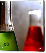 Equipment In Science Research Lab Acrylic Print