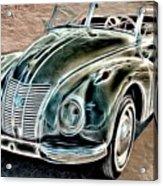 Former East Germany I F A Car Acrylic Print