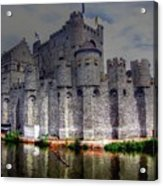 Ghent Belgium Acrylic Print
