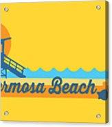 Hermosa Beach. Acrylic Print