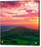 7 Hills Of Bonn Acrylic Print