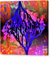 Joshua Tree With Special Effects Acrylic Print