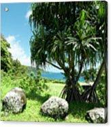 Keanae Maui Hawaii Acrylic Print