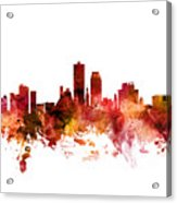 Knoxville Tennessee Skyline Acrylic Print
