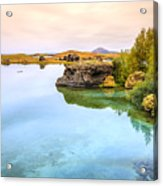 Lake Myvatn Acrylic Print