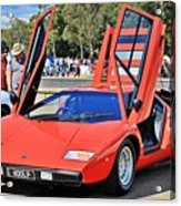 Lamborghini Countach Lp400 Acrylic Print