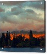 Landscape Paintings Acrylic Print