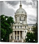 Mc Lennan County Courthouse - Waco Texas Acrylic Print