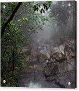 Misty Rainforest El Yunque Acrylic Print