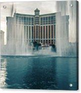 November 2017 Las Vegas Nv - Hotels And Restaurants On Las Vegas Acrylic Print
