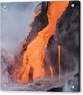 Pahoehoe Lava Flow Acrylic Print