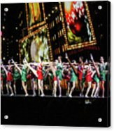 Radio City Rockettes New York City Acrylic Print
