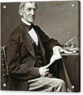 Ralph Waldo Emerson Acrylic Print