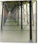 Saltburn Pier Acrylic Print