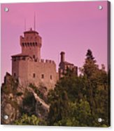 San Marino Acrylic Print