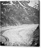 Sawyer Glacier In Tracy Arm Alaska Fjords Near Ketchikan Alaska Acrylic Print