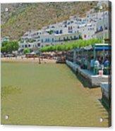 Sifnos, Greece Acrylic Print