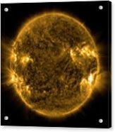 Solar Activity On The Sun Acrylic Print